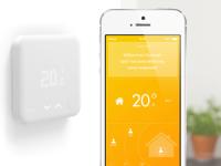 smart home thermostat heizung per app steuern. Black Bedroom Furniture Sets. Home Design Ideas